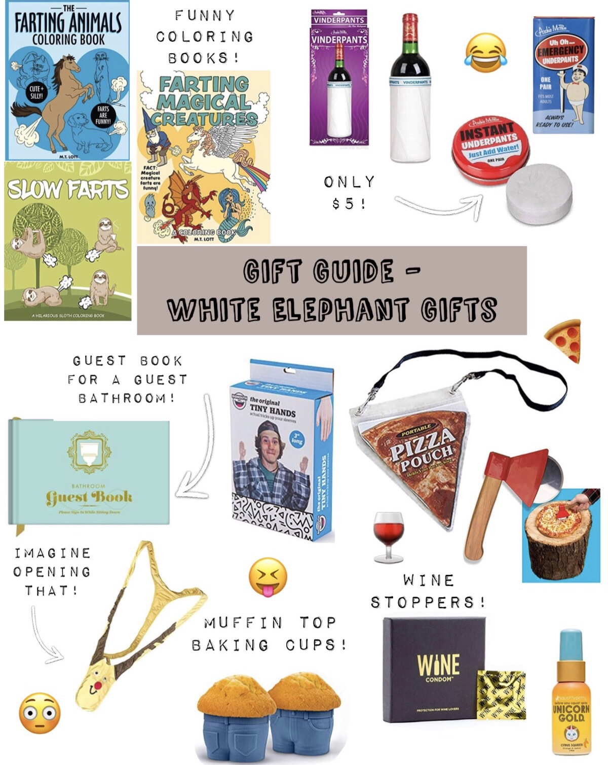 Gift Guide – White Elephant Gifts
